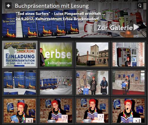 """fotos buchpraesentation """"tod eines surfers"""""""